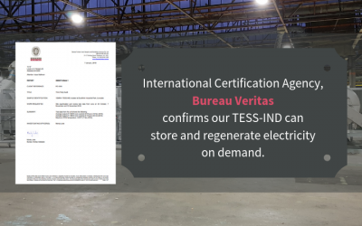 TESS-IND commissioning results verified by Bureau Veritas