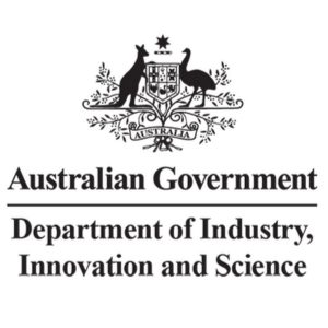 Australian Government Department of Industry, Innovation and Science logo, In the Media